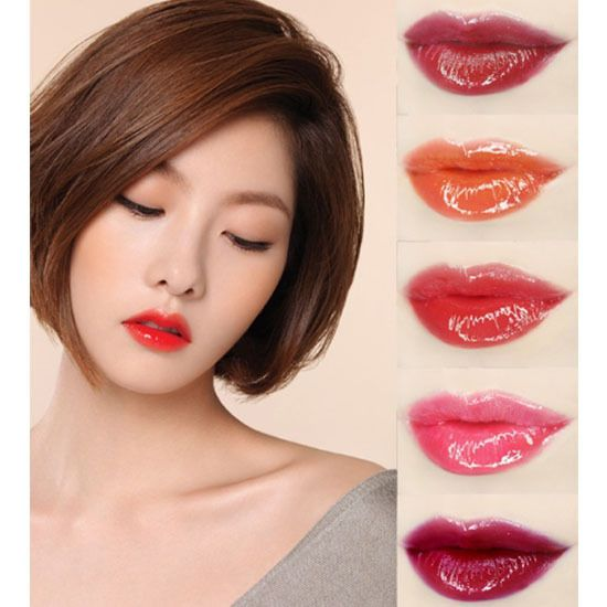 Korea Cosmetics Mamonde Hightlight Lip Tint Gloss Moist Shades Lip Gloss 4g 7Col #Mamonde