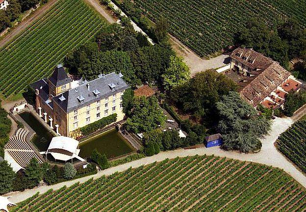 Hotel Schloss Edesheim, D-67483 Edesheim im Landkreis Südliche Weinstraße, Rheinland-Pfalz. © Hotel Schloss Edesheim