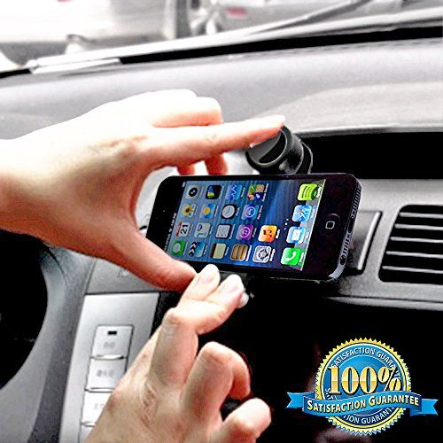 Minisuit Mega Grip Car Vent Mount for iPhone 6 5 4 3, Galaxy S5 S3 S2, Note 3 2 1, HTC, Motorola, Nokia, Sony MiniSuit http://www.amazon.com/dp/B00KRNWNT6/ref=cm_sw_r_pi_dp_GQ1Aub117FFQR