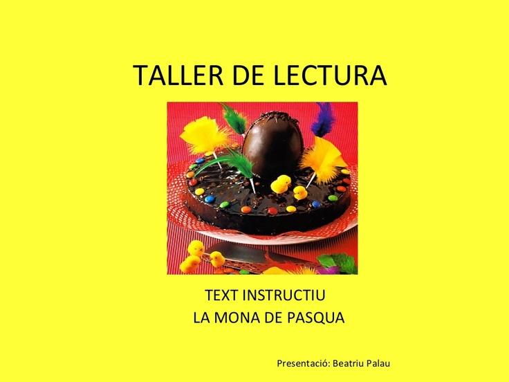 taller-de-lectura-mona-de-pasqua by Beatriu Palau via Slideshare