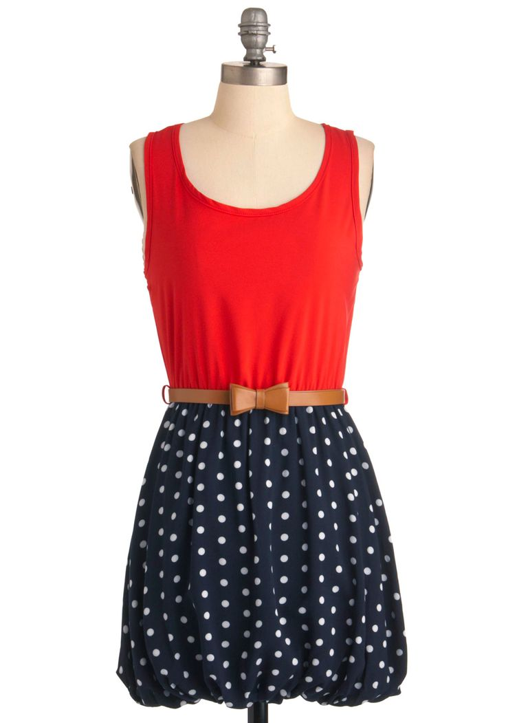 LOVE this!!!: Blue White Polka Dots Skirts, 4Th Of July Dresses For Women, Dots Dresses, Blue Skirts, Woman Dresses, Women Fashion Dresses, Day Dresses, Wonder Woman