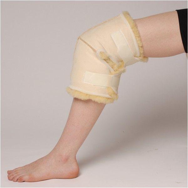 RODILLERA DE LANA NATURAL - REF: 10515: De pura lana. Previene úlceras de presión. Proporciona alivio del dolor y terapia térmica.