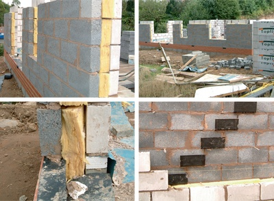Best 25 cavity wall insulation ideas on pinterest brick typical masonry construction clockwise from top left insulation in between the blockwork overview cavity wall solutioingenieria Choice Image