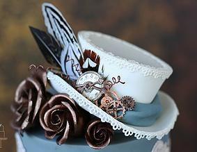 Ƹ̴Ӂ̴Ʒ Sweet Ƹ̴Ӂ̴Ʒ Steampunk Bakery ~ Sweetlake Cakes | verjaardagstaart, taart en bruidstaart Zoetermeer | Suikerwerk