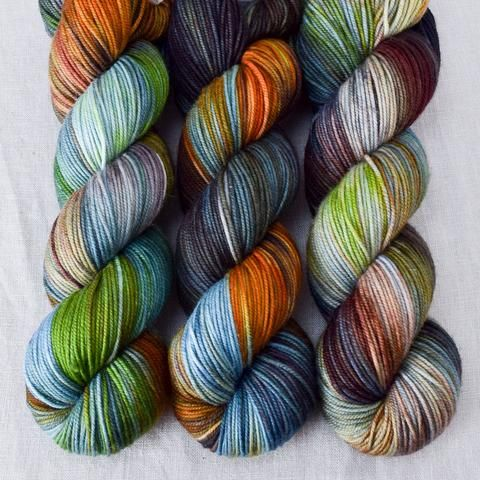 This colorway is a Wild Iris, meaning it is a truly unique, non-repeatable color. When...