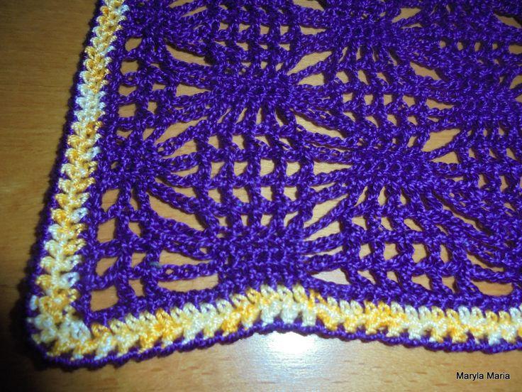 Hobby- moje własnoręczne robótki / szydełkowe serwetki // Hobby- my own handkerchiefs / crochet napkins
