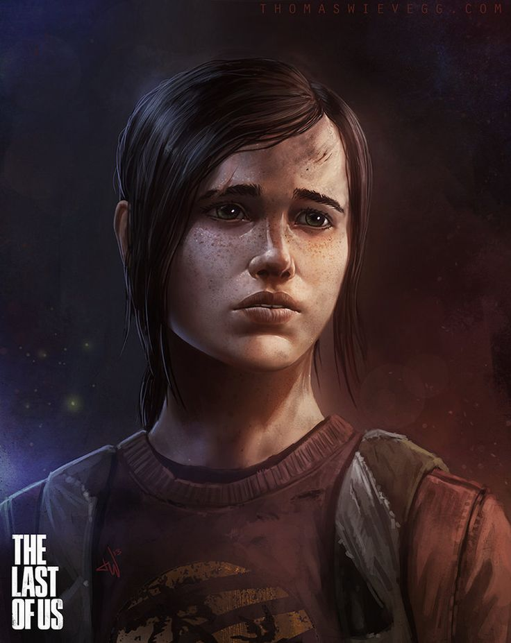 Ellie - The Last of Us - Thomas Wievegg