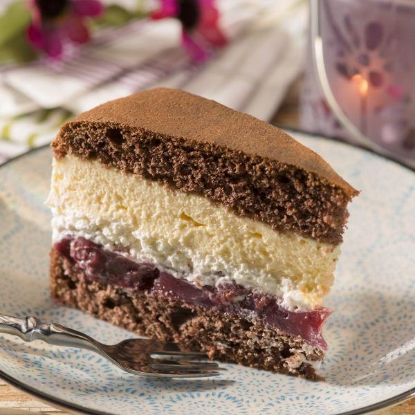 Kirsch-Eierlikör-Torte                                                                                                                                                                                 Mehr