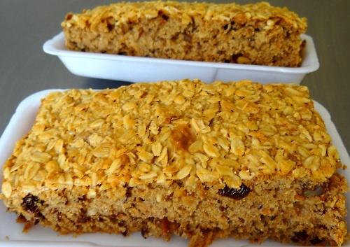 Bolo multi grão - Multi grain cake - pastel de granos múltiples