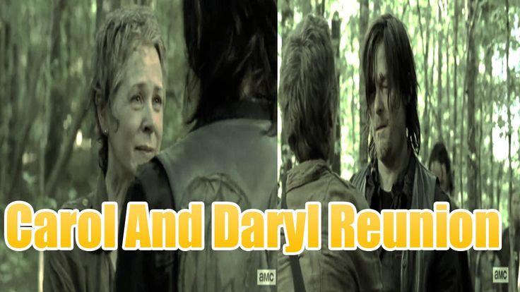 The Walking Dead Season 5 Carol And Daryl Reunion HD Tearrsss Always