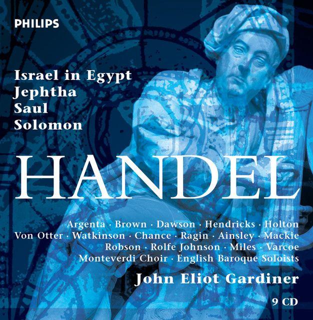 Handel: Oratorios (9 CDs), an album by George Frideric Handel, John Eliot Gardiner on Spotify    Versiones insuperables.