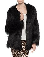 L'America Star Struck Fur Coat #lamerica #fauxfur #winter #fashion #style #davidjones
