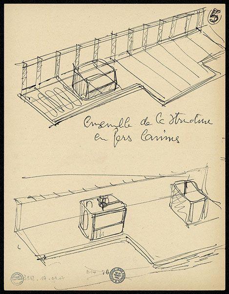 les 37 meilleures images du tableau jean prouve sur pinterest architectes architecture et. Black Bedroom Furniture Sets. Home Design Ideas