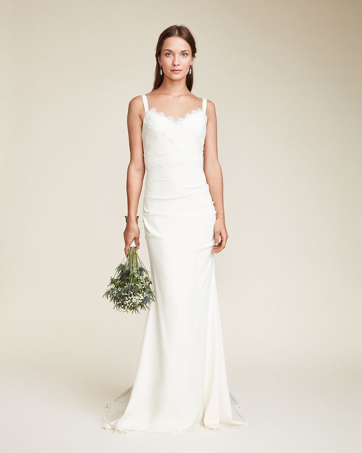 Nicole Miller Bridal Is The Wedding Dress Collection Cool Girl Brides Have Been Waiting For Nicole Miller Wedding Dresses Wedding Dresses Nyc Nicole Miller Bridal
