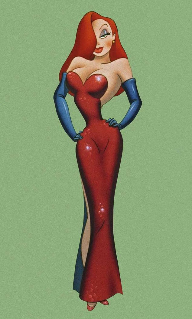 Jessica Rabbit And Pin Up Girls