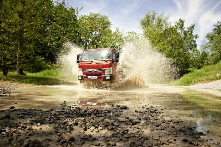 """The light-duty Fuso Canter commercial vehicles have once again re-ceived an award from VansA2Z, a leading British online portal of experts in the light-duty commercial vehicle sector, after being voted """"Light Truck of the Year 2015""""."""