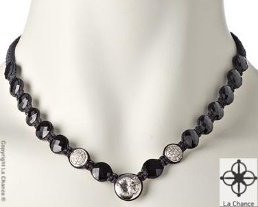 AUM Necklace AUM by La Chance sterling silver and diamonds necklace - www.lachance.dk
