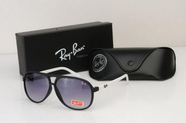 Best Square Ray Ban RB2428 Black Pink Frames Transparent Lenses