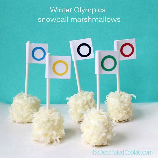 Olympic sweet treats