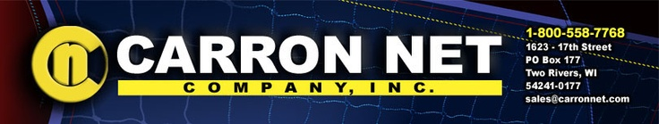 Carron Net Company, Inc (in Two Rivers makes baseball foul netting, backstop nets and field accessories...)