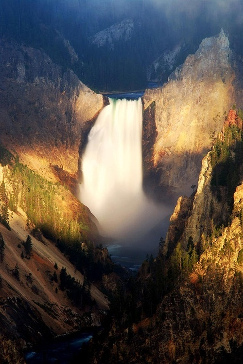 Lower Yellowstone Falls from Artist's Point