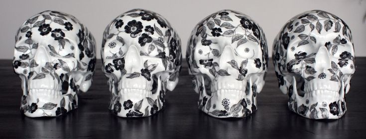 Fact: El cráneo es el hueso favorito de artistas, piratas y bikers de todo el mundo.