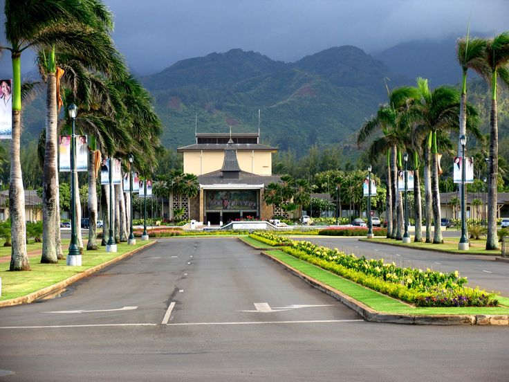 BYU Hawaii, formerly Church College of Hawaii. Google Image Result for http://loiscolton.com/2005/hukilau/byuh.jpg