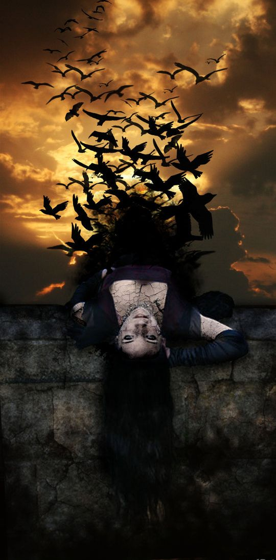 Lady of Raven Wings by Eternal-Salvation on DeviantArt