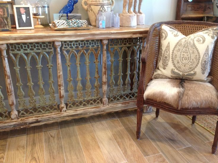 Architectural Salvage Console                                                                                                                                                                                 More