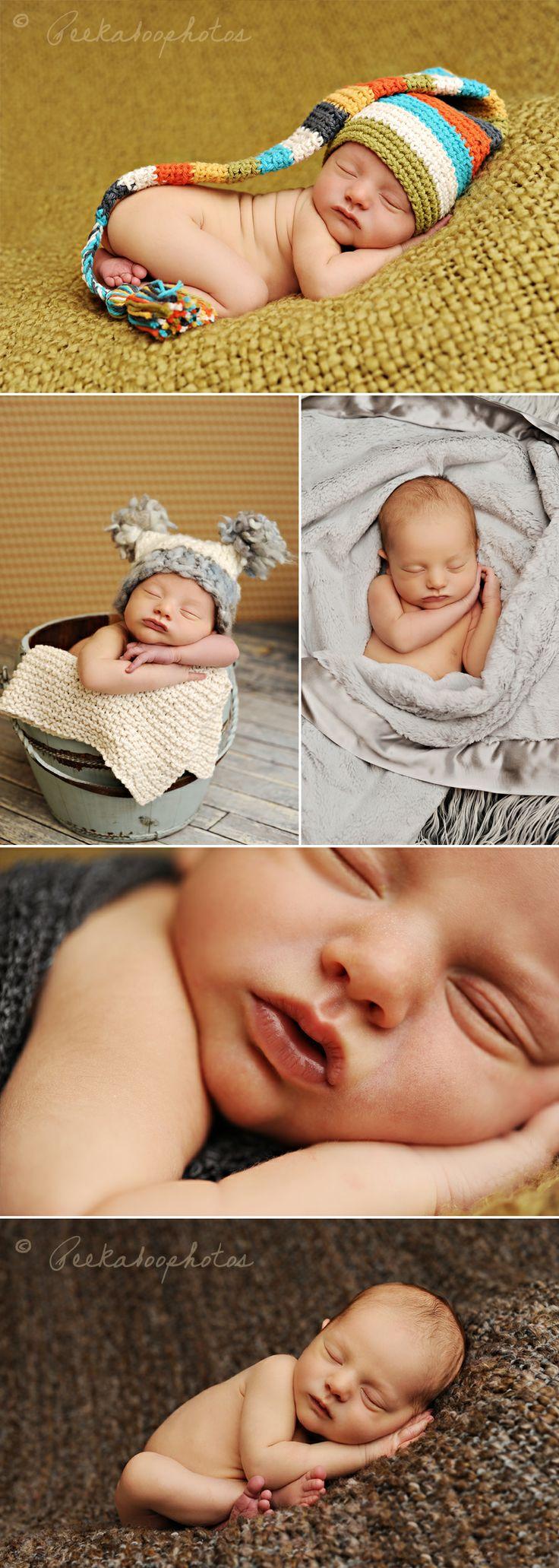 adorable newborn shoot by peekaboo photography