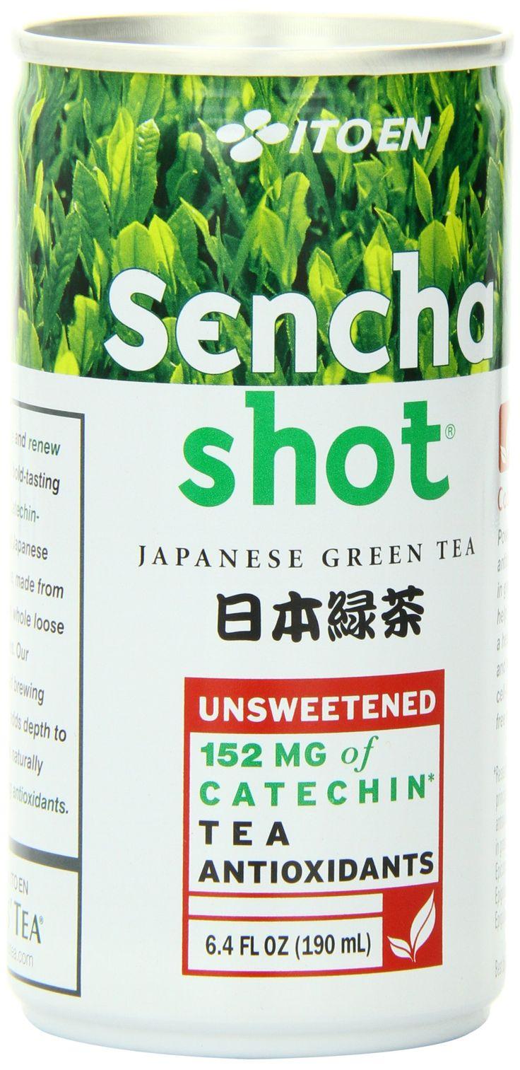 Ito En Sencha Shot, Japanese Green Tea, 6.4 Ounce (Pack of 30)