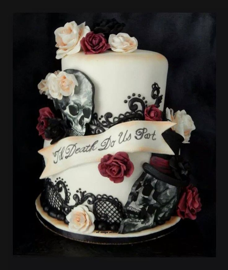 candy skull wedding cake 1000 images about wedding vow renewal on 12352