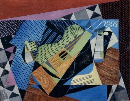 Kubistisch stilleven (1915) van Juan Gris