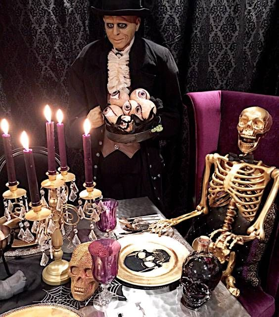 Click this pin to see the hauntingly beautiful setting Lacy L. entered in Grandin Road's Spooky Decor Photo Challenge. Lacy L. could win one of four $2,500 Grandin Road gift cards. Can you craft an eerily elegant Halloween scene? Enter yourself!