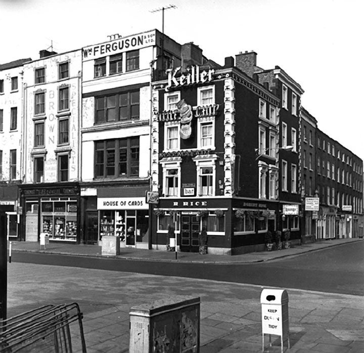 St Stephens Green and South King street corner early 1970s.