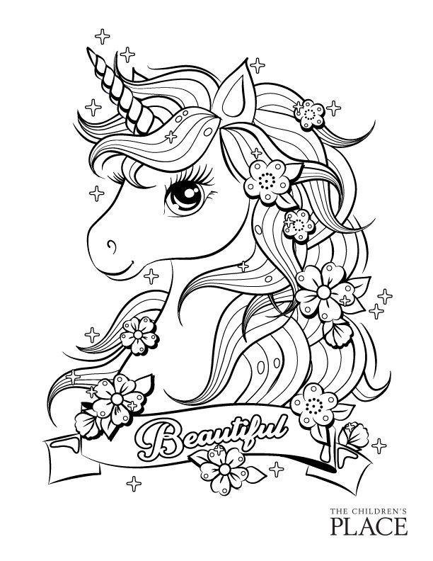 Coloring Sheet Unicorn Coloring Pages Cute Coloring Pages Coloring Pictures For Kids