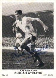 62. Ian Greaves Oldham Athletic