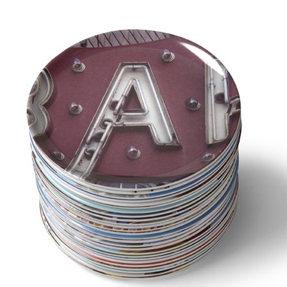 A-Z Coaster Set