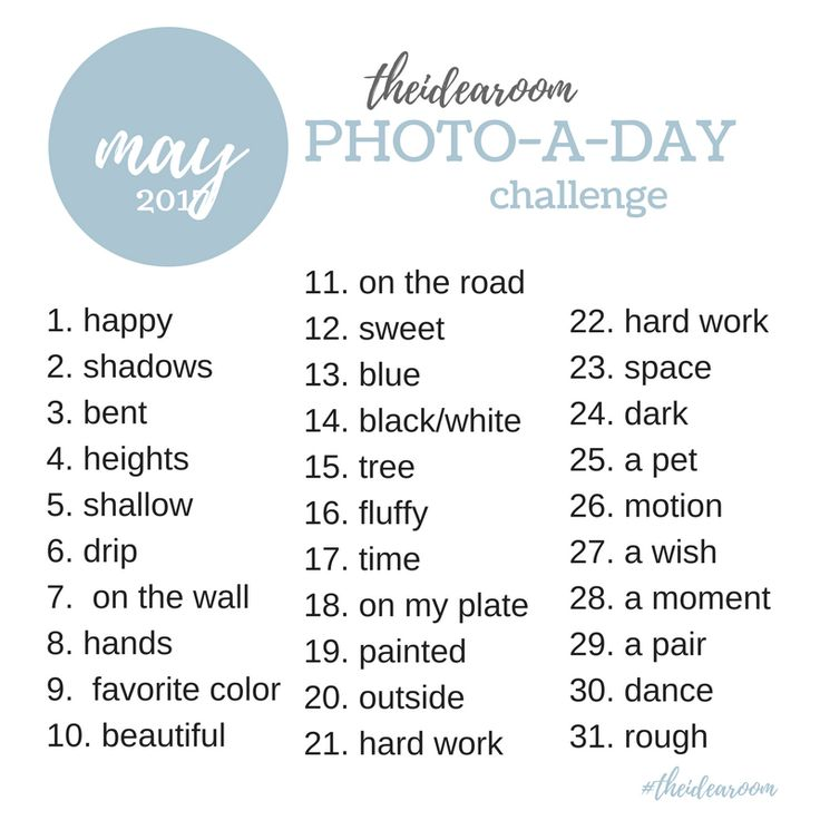 Photography Ideas| May-Photo-A-Day-Challenge-2017-Instagram