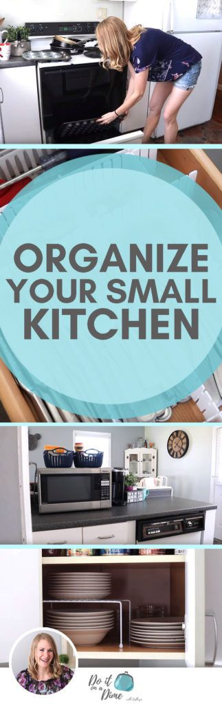 Organizing a SMALL kitchen for under $200!