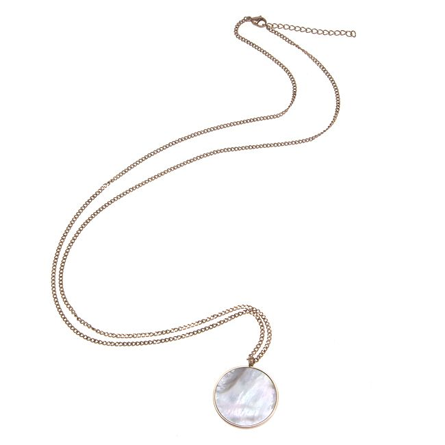 Ingnell Jewelley - Milla necklace rose. Stainless steel. www.ingnelljewell.com