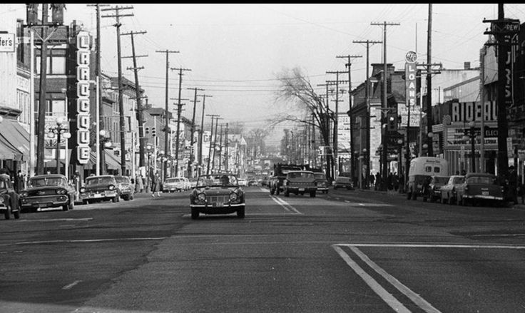 Rideau St in the 50's/60'