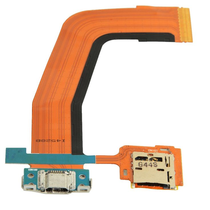 Micro SD Card + USB Charger Connector Flex Cable For Samsung Tab S 10.5 T800 D1596 #Affiliate