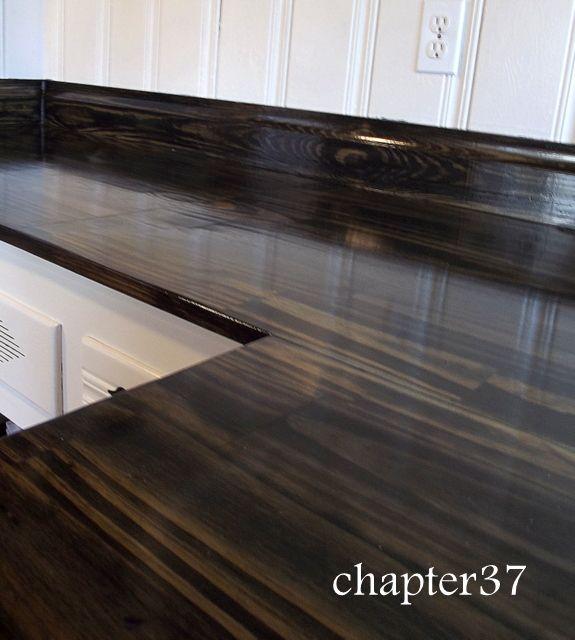 25+ best diy wood countertops ideas on pinterest | wood