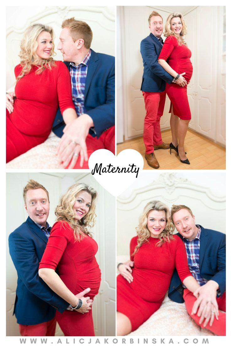 Parents-to-be. You can feel the love in the air. Maternity photos at home. Check…