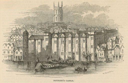 Baynard's Castle - where Diana goes to visit Lady Pembroke