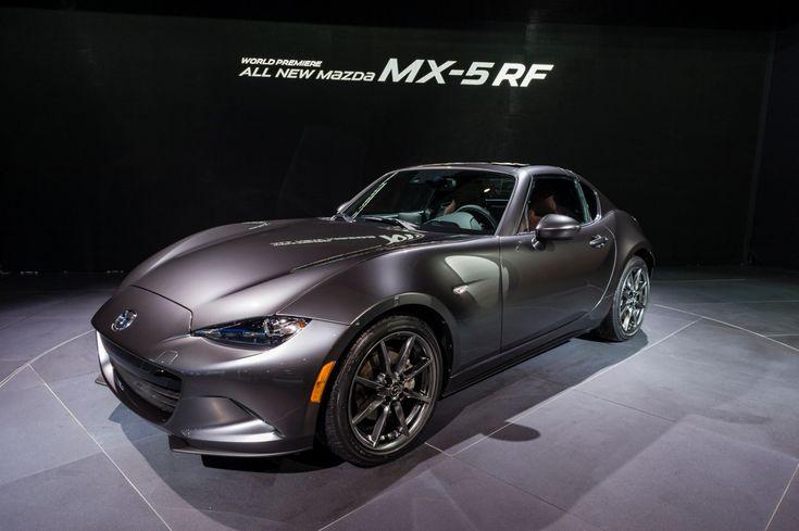 À la découverte de la Mazda Mx-5 RF pour les étudiants en formation de mécanique auto