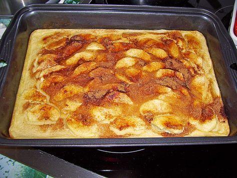 Apfelpfannkuchen aus dem Ofen   – Einfacher nachtisch