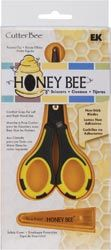 *EK Success HONEY BEE Non-Stick Scissors - for precision cutting...must get!