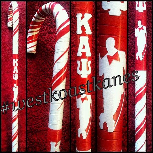 Kappa Alpha Psi custom canes